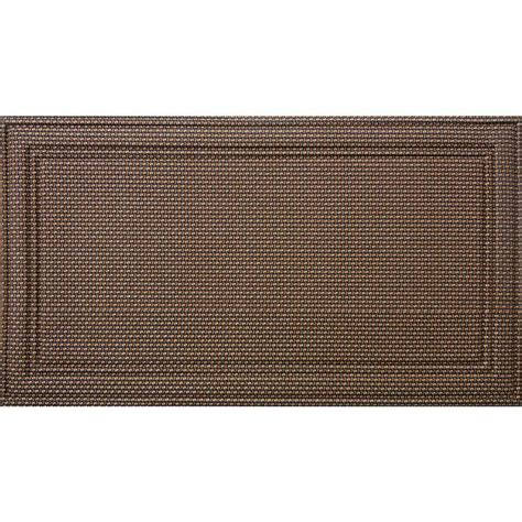 Doormat Rubber by Apache Mills Manhattan Soho 20 In X 36 In Recycled