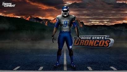 Football Nike College Pro Combat Boise State