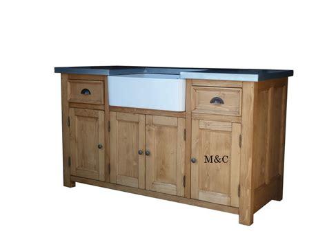 meuble evier cuisine grand meuble evier de cuisine dessus zinc
