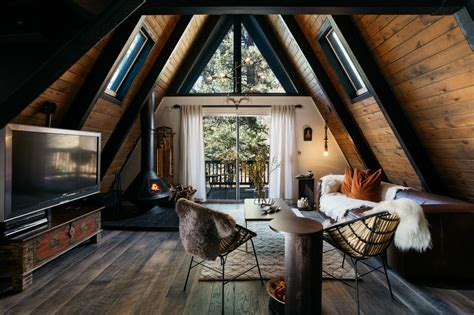 a frame home interiors 1970s a frame cabin transformed into light filled modern