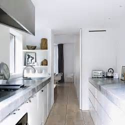 narrow kitchen small kitchens modern kitchens housetohome co uk