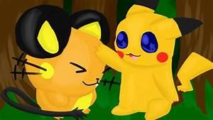 Pikachu And Dedenne by Choc0Latte on DeviantArt