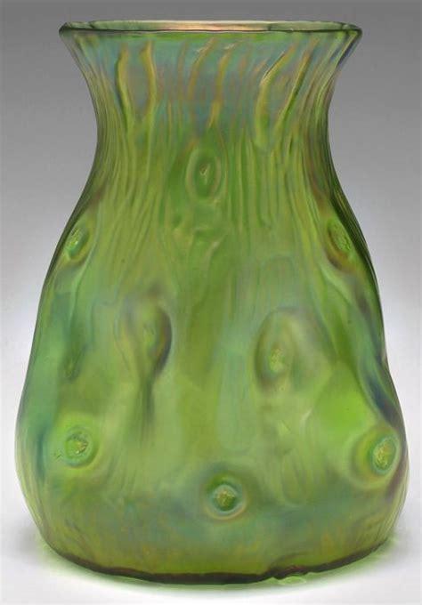 loetz creta rusticana vase design attributed  dresser