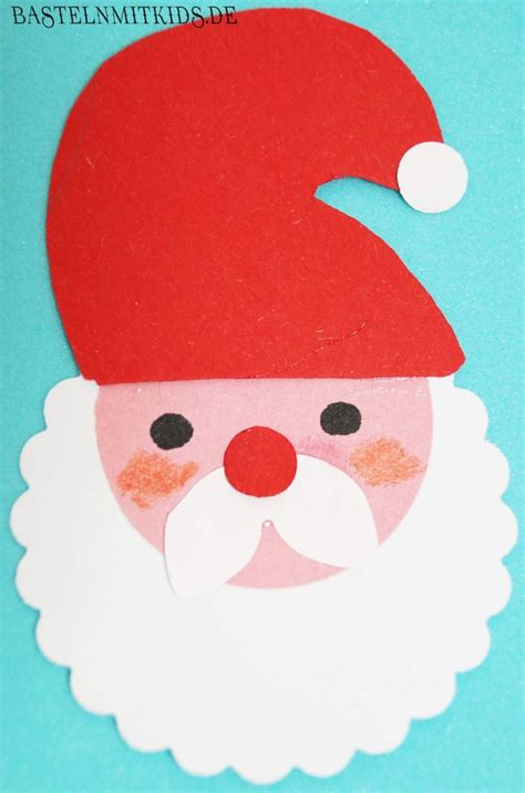 weihnachtsmann basteln vorlagen die besten 25 bastelvorlagen weihnachten weihnachtsmann ideen auf schneller