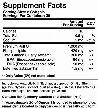 Krill 1000 Pro Cell Research Anything Ingredients
