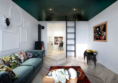 50 Small Studio Apartment Design Ideas (2019) ? Modern