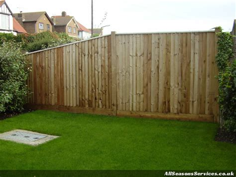 wood fence height sussex fence building service all seasons fencing contractors ltd