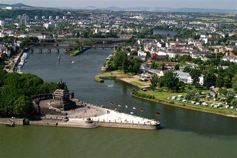 In Koblenz by Koblenz The German Corner And A National Heirloom