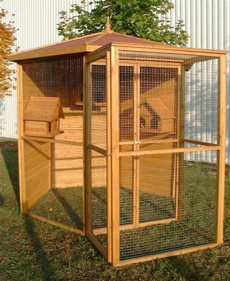 pigeonnier voliere kiosque en bois animaloo