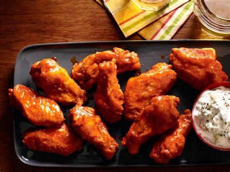 wings buffalo chicken fried cheese fryer air recipe recipes taste food spicy dip network wing amazing kitchen grilled flour cooking
