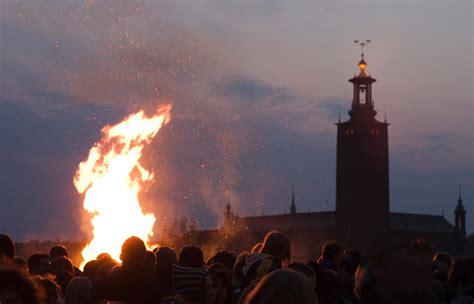 Valpurģu nakts Zviedrijā