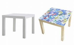 Ikea Table Basse : diy personnaliser la table basse lack ikea joli place ~ Teatrodelosmanantiales.com Idées de Décoration