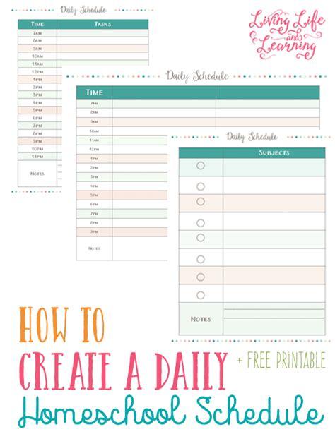 goals  daily schedule printables  homeschooling moms