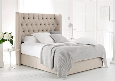chambre 160x200 knightsbridge upholstered divan base and headboard