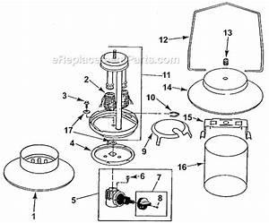 Coleman 5152c700 Parts List And Diagram