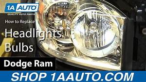 How To Install Replace Headlights Bulbs 2006