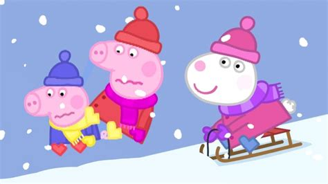 Peppa Pig Full Episodes 🎄christmas Special ️cold Winter