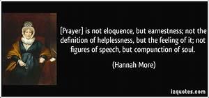 [Prayer] is not... Helpless Definition