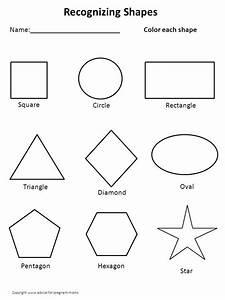 kindergarten worksheets printable worksheets for With shape tracing templates