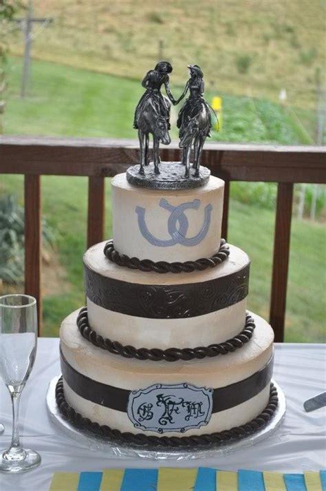 western wedding cakes pictures western theme wedding cake decorating ideas 1253