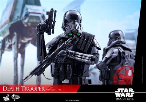 deathtrooper star wars rogue  hot toys figure revealed