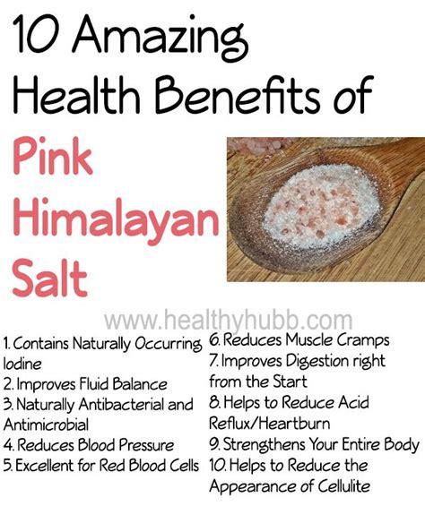 De 25 Bedste Idéer Inden For Himalayan Salt Benefits På