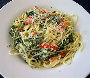 Spinat Und Feta : spaghetti mit spinat feta so e rezept mit bild ~ Lizthompson.info Haus und Dekorationen