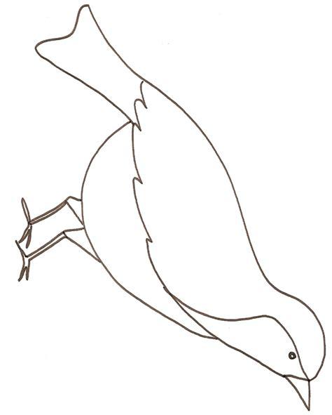 dessin d oiseau a imprimer