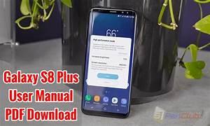 Download Samsung Galaxy S8 Plus Pdf User Manual In English