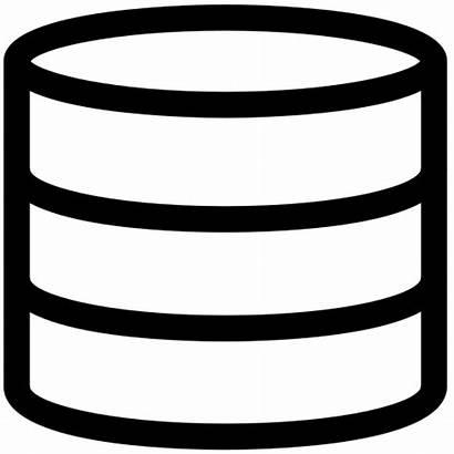 Bd Database Icon Icona Icons Dati Clipground