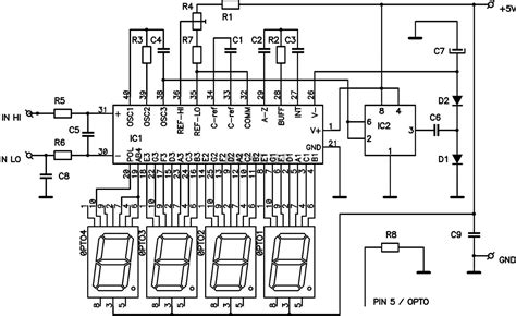 Inncom E528 Wiring Diagram Room by Wiring Diagram Digital Voltmeter Auto Electrical Wiring