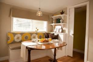 kitchen nook table ideas for space saving solution