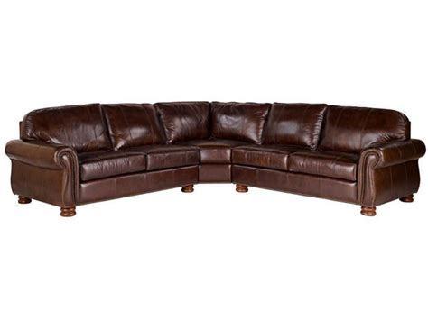 thomasville leather sofa benjamin leather christianson furniture
