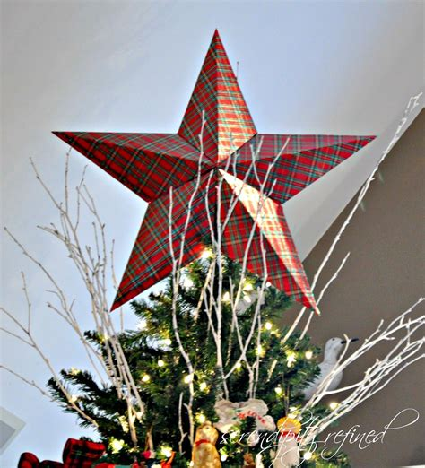 tree tops template cardboard christmas tree top star tutorial and template by