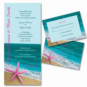 Beach wedding theme wedding invitation ideas for Beach wedding invitations with pictures