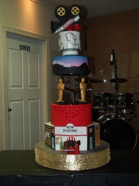 Rebekah's Old Hollywood Sweet 16 Cake Cakecentralcom