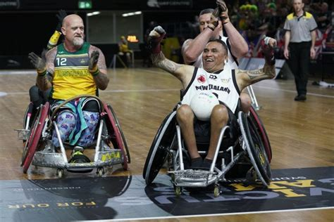 Hosts Australia Golden In The Pool At 2018 Invictus Games In Sydney