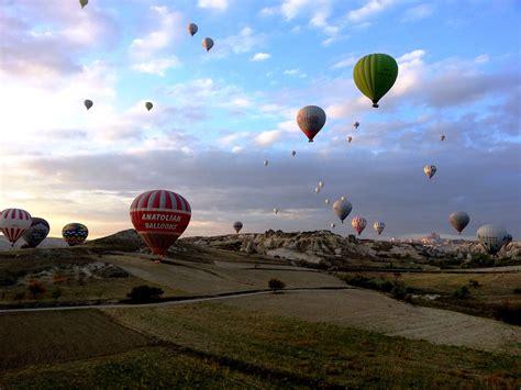 Hot Air Balloon Riding In Cappadocia Turkey