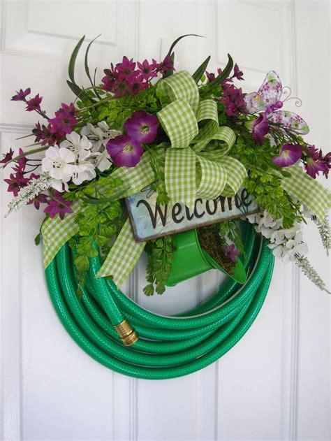 25 Best Ideas About Garden Hose Wreath On Pinterest