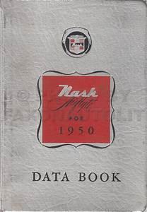 1950 Nash Repair Shop Manual Reprint