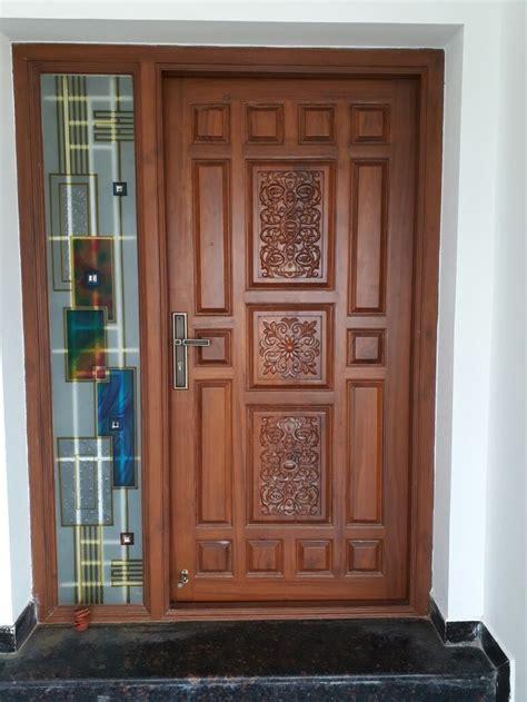 pin  nithya logan  door front door design wood wooden main door design main entrance