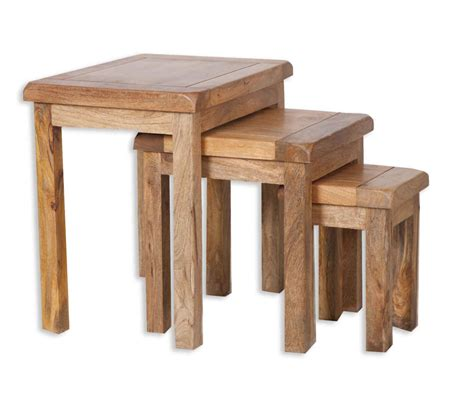 Shop joss & main for stylish mango wood coffee table to match your unique tastes and budget. Country solid mango wood nest of tables - House Goods 4U