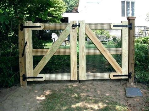 driveway gate ideas cheap gates cheapest wood  sale diy