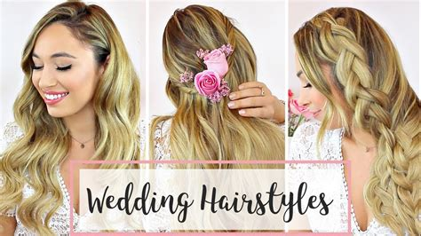wedding hairstyles      hair tutorial youtube