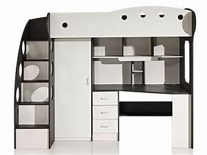 Lit Demi Hauteur : les 25 meilleures id es de la cat gorie lit mezzanine ~ Premium-room.com Idées de Décoration