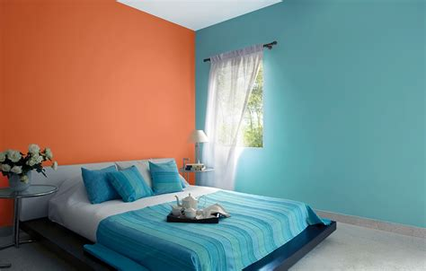 Bedroom Wall Color Combinations Asian Paints  Bedroom And