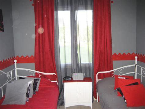 chambre ado grise chambre mur gris et