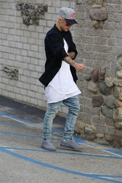 justin bieber  drop crotch jeans denimology