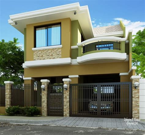 Themed Kitchen Ideas - 2 storey modern house designs in the philippines bahay ofw