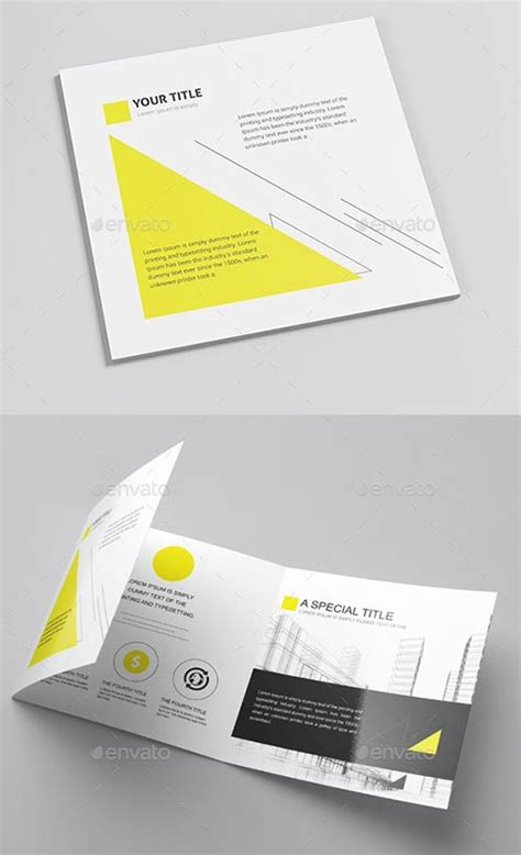 Brochure Template Photoshop by 40 Best Psd Brochure Templates Design 2015